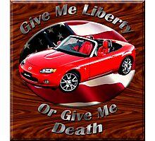 Mazda MX-5 Miata Give Me Liberty Photographic Print