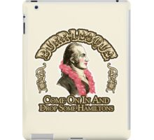 Burr-lesque iPad Case/Skin