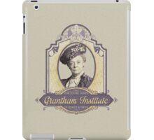 Downton Abbey Inspired - Lady Violet - Grantham Institute - Lady Violet Finishing School - Dowager's Etiquette Teachings iPad Case/Skin