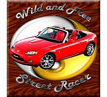 Mazda MX-5 Miata Wild and Free Photographic Print