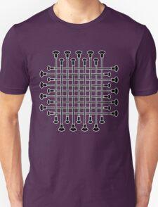 Baton Criss Cross  T-Shirt