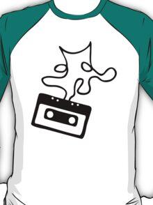 Sheet music - Tape T-Shirt