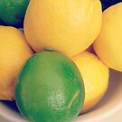Lemons and Lime  by ©Maria Medeiros