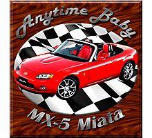 Mazda MX-5 Miata Anytime Baby Photographic Print
