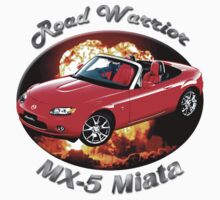 Mazda MX-5 Miata Road Warrior by hotcarshirts