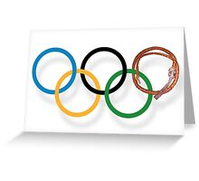 The Sochi 2014 Winter Olympics Greeting Card