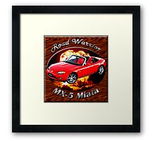 Mazda MX-5 Miata Road Warrior Framed Print