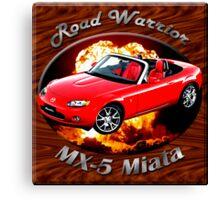 Mazda MX-5 Miata Road Warrior Canvas Print