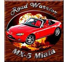 Mazda MX-5 Miata Road Warrior Photographic Print