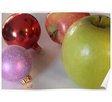 Like Comparing Apple to Ornaments Poster