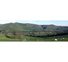 Bunster and Thorpe Cloud panorama Photographic Print