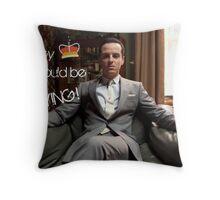 Go Study—James Moriarty Throw Pillow