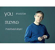 Go Study—John Watson Photographic Print