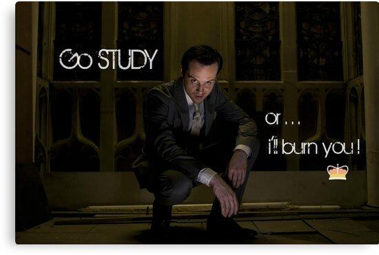 Go Study—James Moriarty v2 by kinderberry