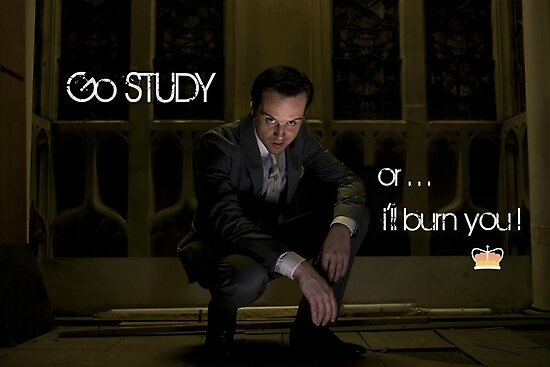 Go Study—James Moriarty v2 by kinderberry