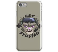 GET STUFFED (Tan) iPhone Case/Skin