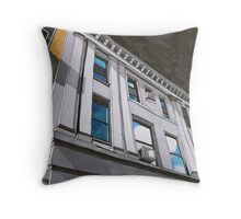 urban building Throw Pillow