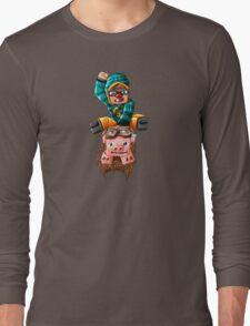 The Pilot Pig! Long Sleeve T-Shirt