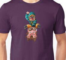 The Pilot Pig! Unisex T-Shirt