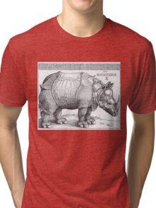 Rhino - Durer Tri-blend T-Shirt
