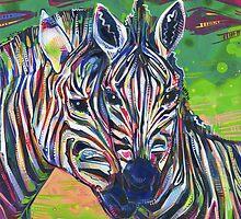 Zebras by Gwenn Seemel