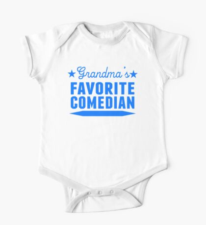 Grandma's Favorite Comedian One Piece - Short Sleeve