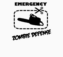 Emergency Zombie Defense Unisex T-Shirt