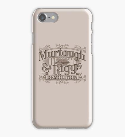 Murtaugh & Riggs Demolition iPhone Case/Skin