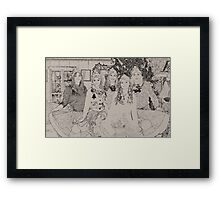 Santa's Elves Framed Print