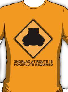 Route 16 (black) T-Shirt