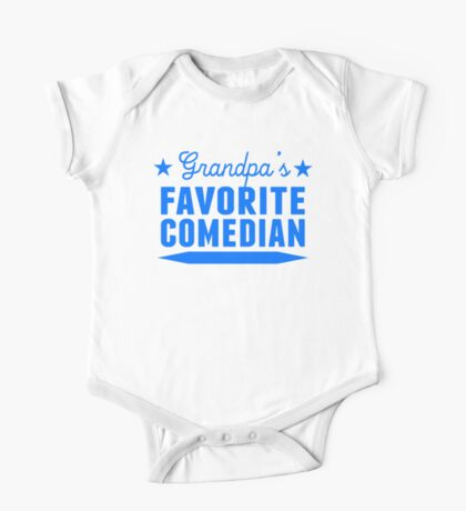 Grandpa's Favorite Comedian One Piece - Short Sleeve