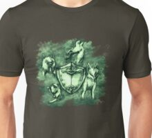 Wolf Shield 03 Unisex T-Shirt