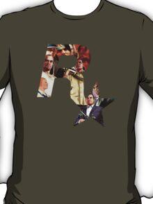 Rockstar Montage Cutout  T-Shirt
