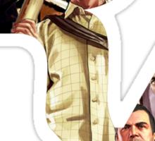 Rockstar Montage Cutout  Sticker