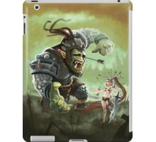 Orc problems iPad Case/Skin
