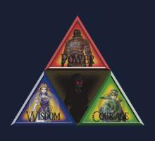 Triforce - Wisdom, Courage, Power Baby Tee