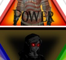 Triforce - Wisdom, Courage, Power Sticker