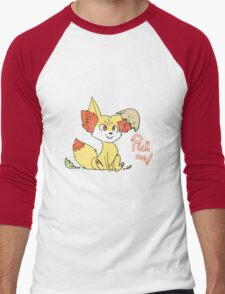 Fennekin Men's Baseball ¾ T-Shirt