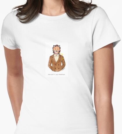 Fantastic Wes Anderson Womens Fitted T-Shirt