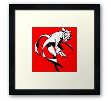 The Phantom Thief  (White) Framed Print