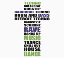 Trance Techno Dubstep Rave Cross 2 by clubbers06