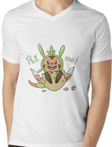 chespin Mens V-Neck T-Shirt
