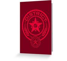 The Senshi Games: Mars Greeting Card