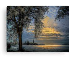 The Blue Hour ~ Snow ~ Canvas Print