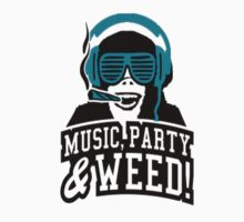 Music Party Weed 2 by clubbers06