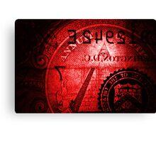 Blood money Canvas Print