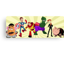 Toy Story Heroes Canvas Print