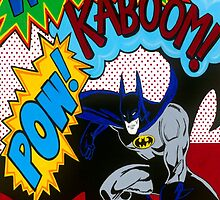 Batman Wham Kaboom Pow by Carla Bank