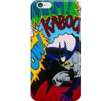 Batman Wham Kaboom Pow iPhone Case/Skin