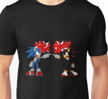 Sonic & Shadow Objection! Unisex T-Shirt
